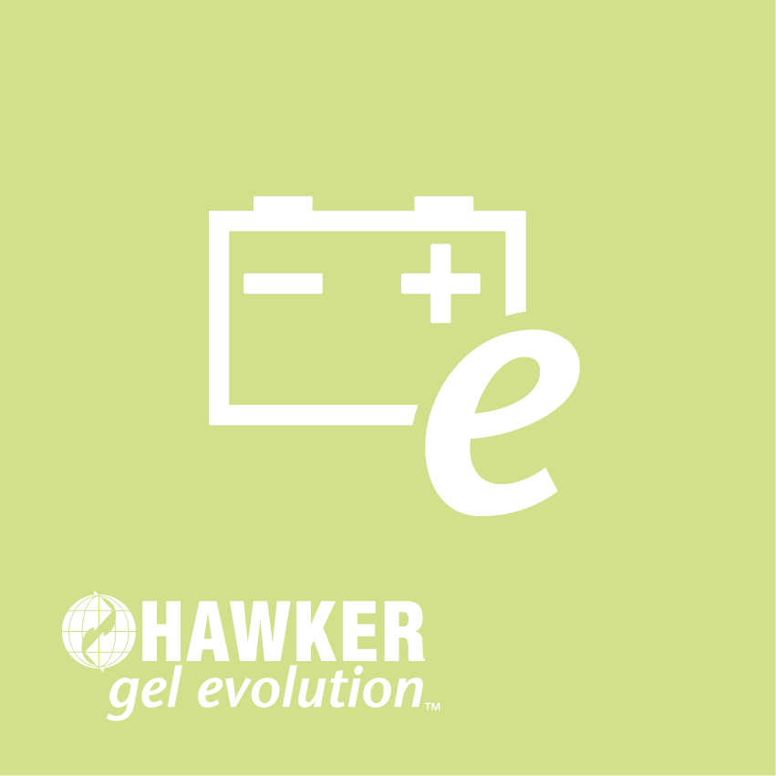 HAWKER gel evolution